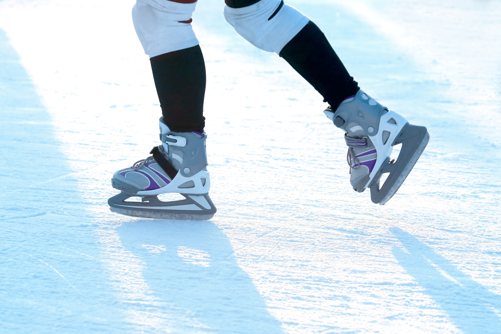 Enjoy a Day of Ice Skating at a Nearby Rink